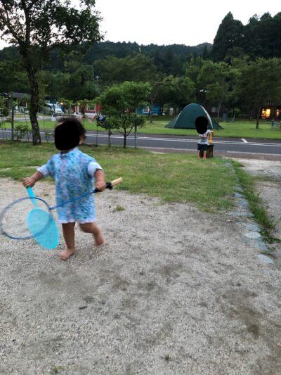 青川峡キャンピングパークの公園